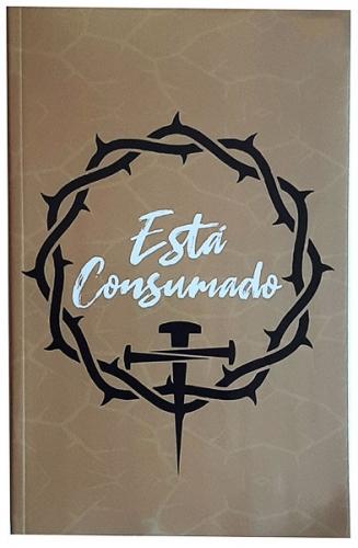Bíblia Sagrada - Capa Personalizada Está Consumado - Tamanho Grande - Ultra fina Slim - Linguagem Simples para Entendimento - Brochura - Versão NVI