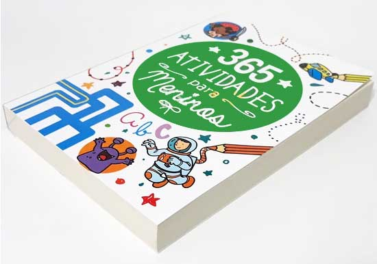 365 Atividades para Meninos - Temas Diversos - Para cada dia do Ano tem 01 Atividade - Perfeito para colorir, adivinhar, desvendar labirintos, ligar os pontos, somar e subtrair e muito mais!