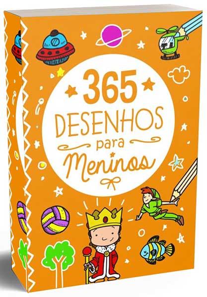 365 Desenhos para Meninos - Para cada dia do Ano tem 01 Desenho para Colorir - Divirta-se e Separe seus lápis e escolha suas cores favoritas para realizar suas atividades.