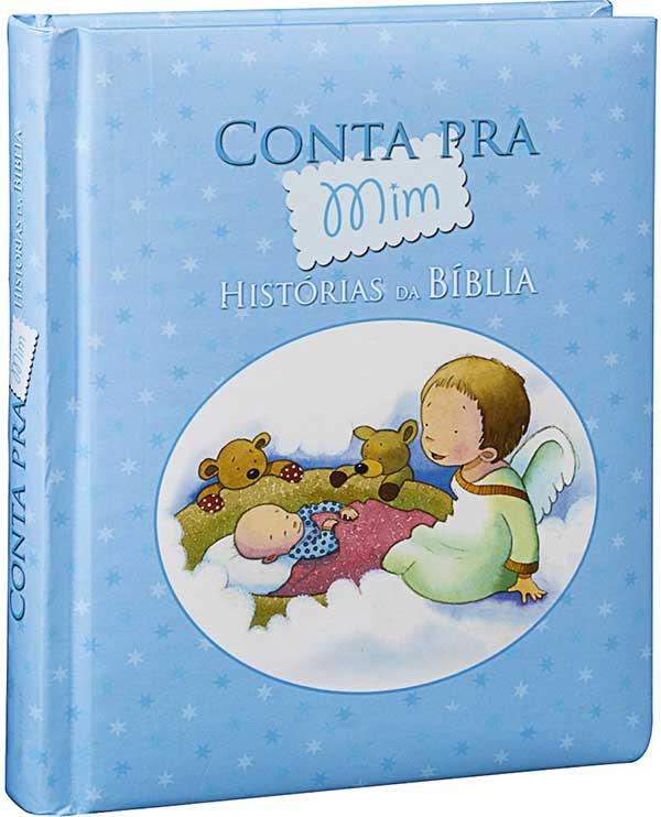 Bíblia Infantil Ilustrada - Conta Pra mim - Belas histórias da Bíblia selecionadas e recontadas em forma de rima - Capa Acolchoada e muito mais - Ele