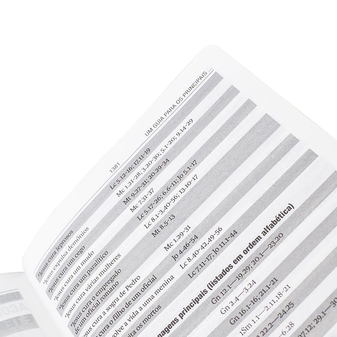 Bíblia Sagrada - Capa Dura Personalizada Florescer - Tamanho Grande - Capa Dura - Linguagem Simples do Entendimento da Palavra do Senhor - NAA