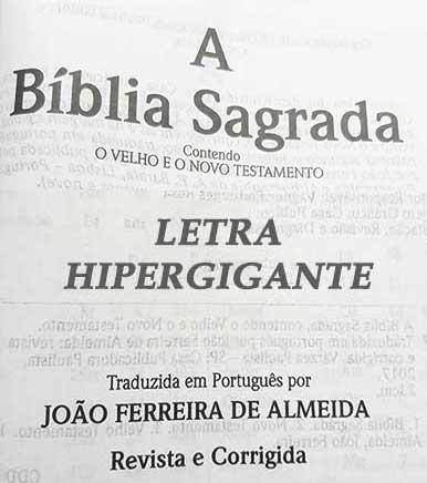 Bíblia Sagrada - LETRAS HIPERGIGANTES - Harpa Cristã - Palavras de Jesus são em Destaque - Almeida Tradicional - Tamanho Grande -  Capa Luxo - Marrom Escuro