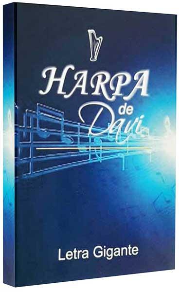 Hinário Pentecostal - Harpa Cristã - Possui LETRAS GIGANTES - Tamanho Grande - Acompanha Grátis 53 Corinhos Pentecostais Conhecidos - Louvor