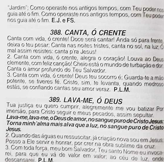 Hinário Pentecostal - Harpa Cristã - Possui LETRAS GIGANTES - Tamanho Grande - Acompanha Grátis 53 Corinhos Pentecostais Conhecidos - Tulipa