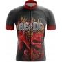 Camisa Ciclismo Brk ACDC com UV 50+