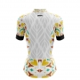 Camisa Ciclismo Brk Feminina Estampa Vintage com UV 50+
