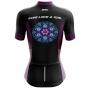 Camisa Ciclismo Brk Feminina Ride Like a Girl com UV 50+