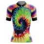 Camisa Ciclismo Brk Feminina Tie Dye com UV 50+