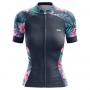 Camisa Ciclismo Brk Feminina Tropical com UV 50+