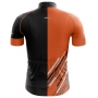 Camisa Ciclismo Brk Mountain Laranja com Preto com UV 50+