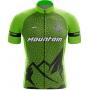 Camisa Ciclismo Brk Mountain Verde com UV 50+