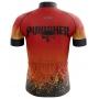 Camisa Ciclismo Brk The Punisher Fire com UV 50+