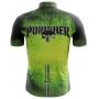 Camisa Ciclismo Brk The Punisher Verde com UV 50+