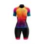 Macaquinho Ciclismo Feminino Tie Die Summer Brk com UV50+