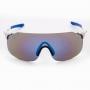 Óculos de Ciclismo Polarizado Brk Sunrise 07 Azul e Branco