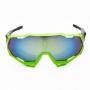 Óculos de Ciclismo Polarizado Brk Thundercracker 01 Verde e Azul