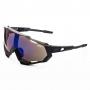 Óculos de Ciclismo Polarizado Brk Thundercracker 02 Preto com Azul