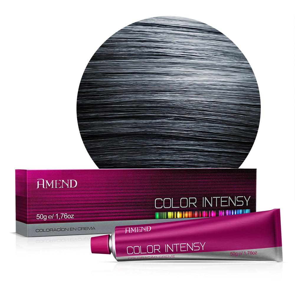 Coloração 2.1 Preto Azulado Color Intensy Amend - 50g