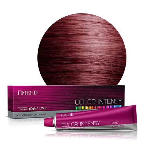 Coloração 55.46 Castanho Claro Cobre Averm. Intenso (Amora) Color Intensy Amend - 50g