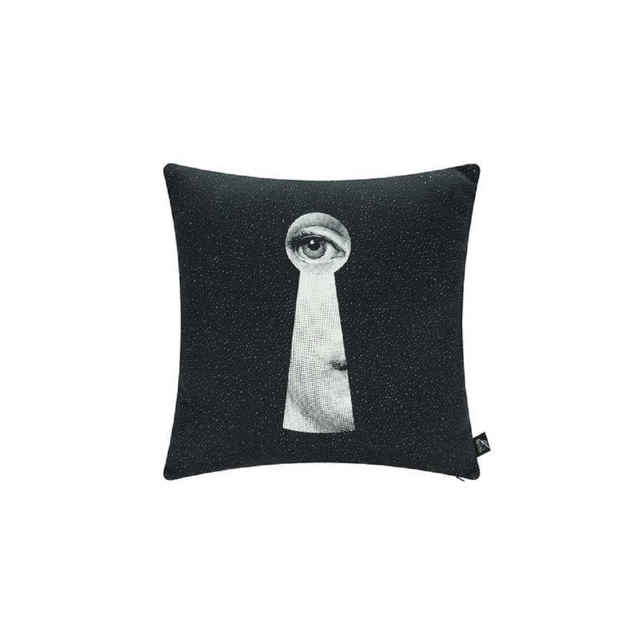 Almofada Chiave | preto e branco