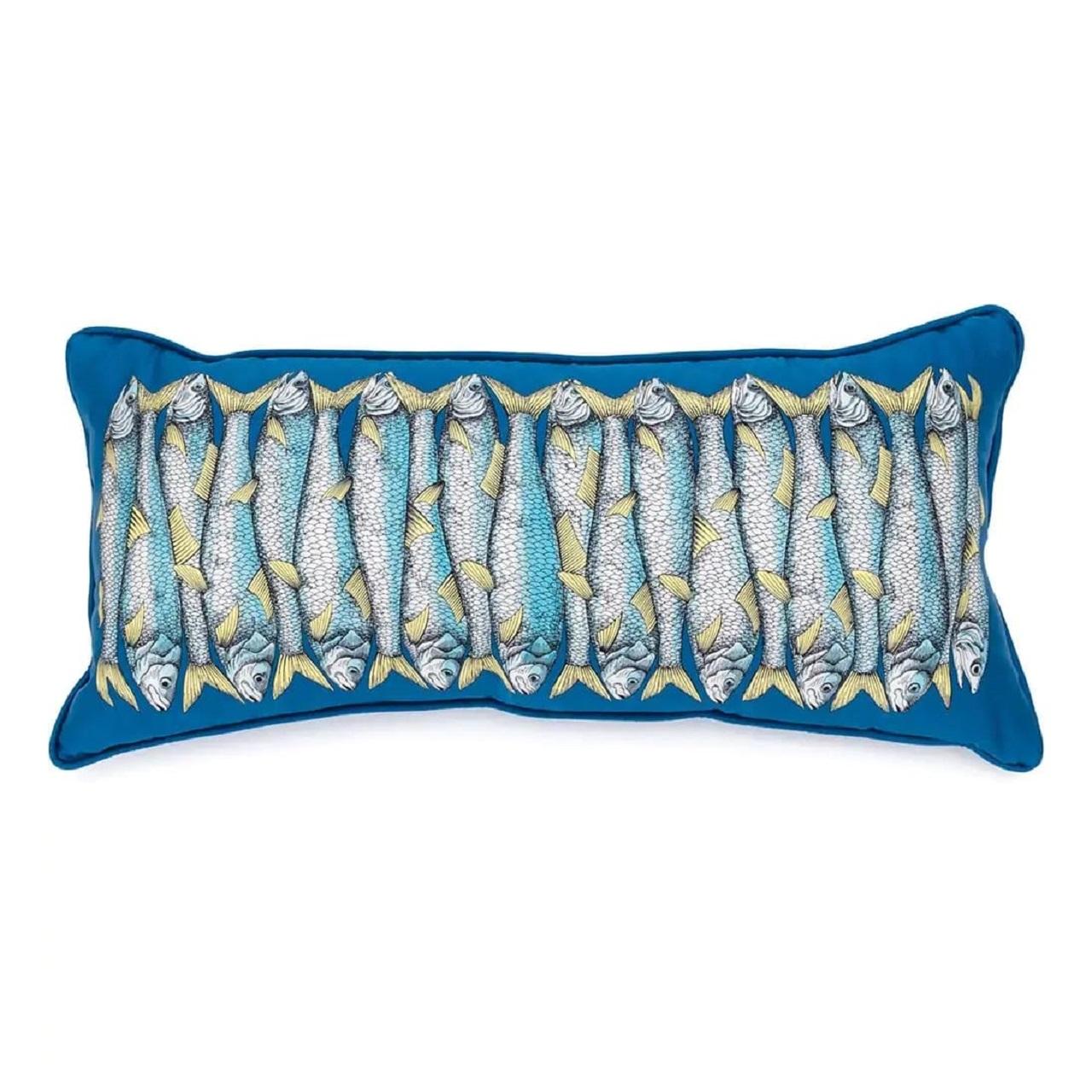 Almofada Sardinha | blue