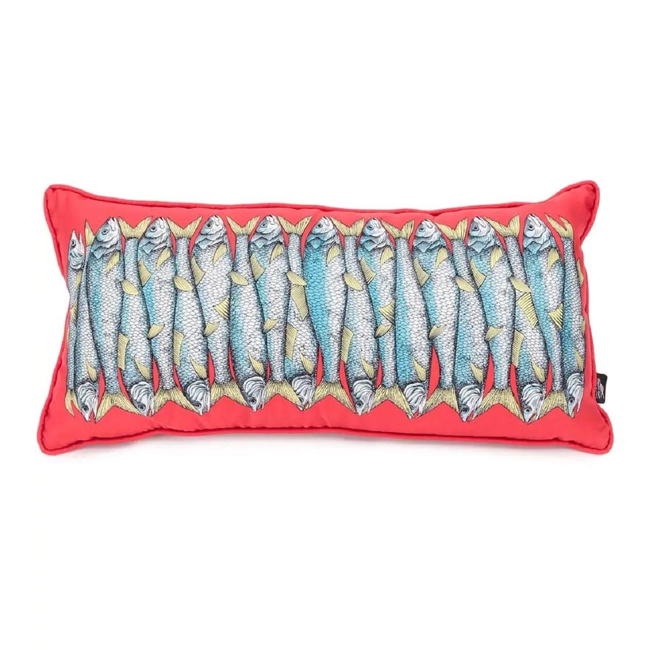 Almofada Sardinha | vermelha