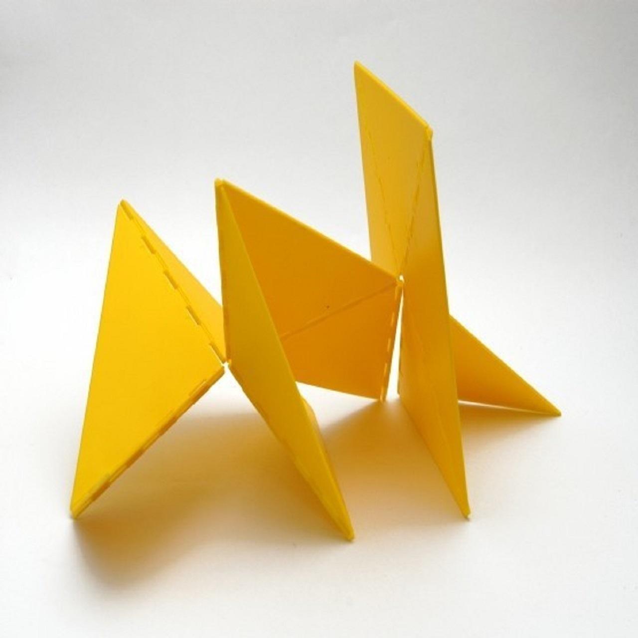 Bicho Caranguejo Duplo | amarelo
