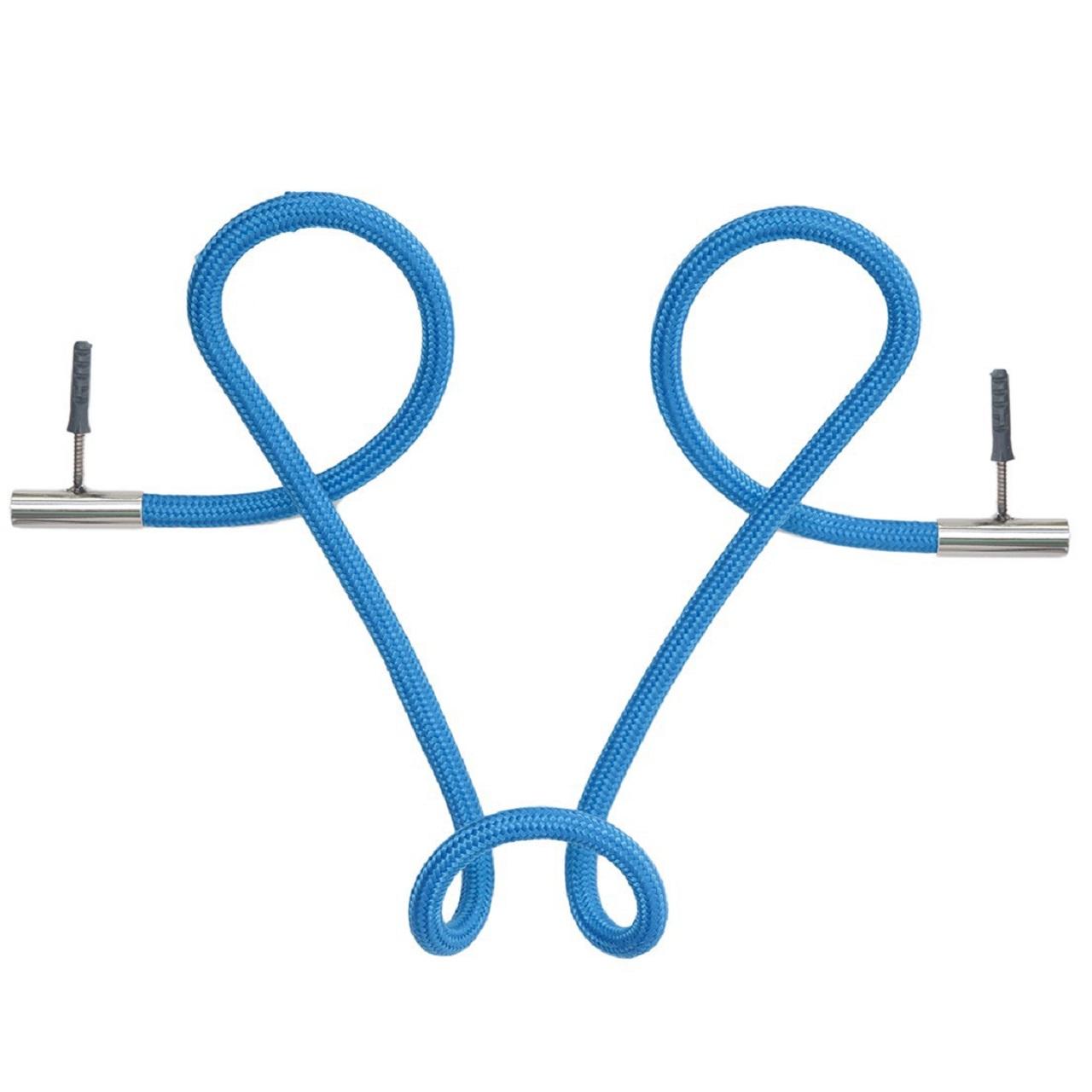 Cabideiro Laço Revestido Corda | azul