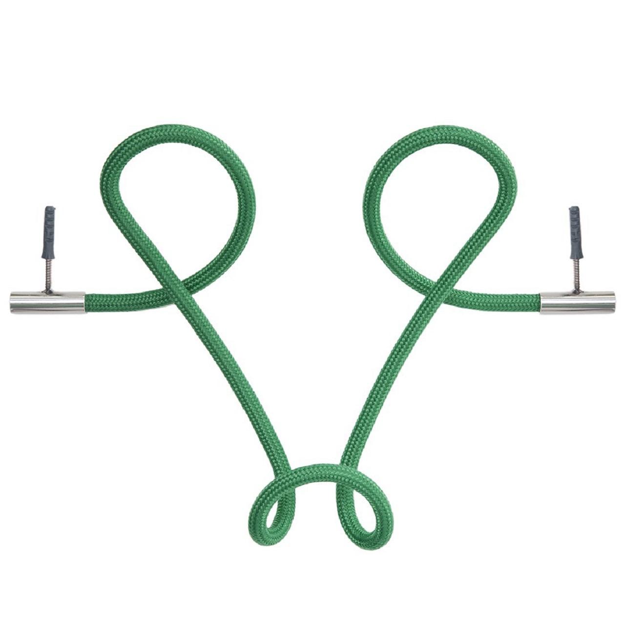 Cabideiro Laço Revestido em Corda| verde