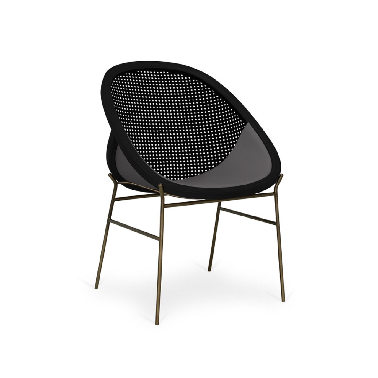 Cadeira Eclipse | jequitibá ébano