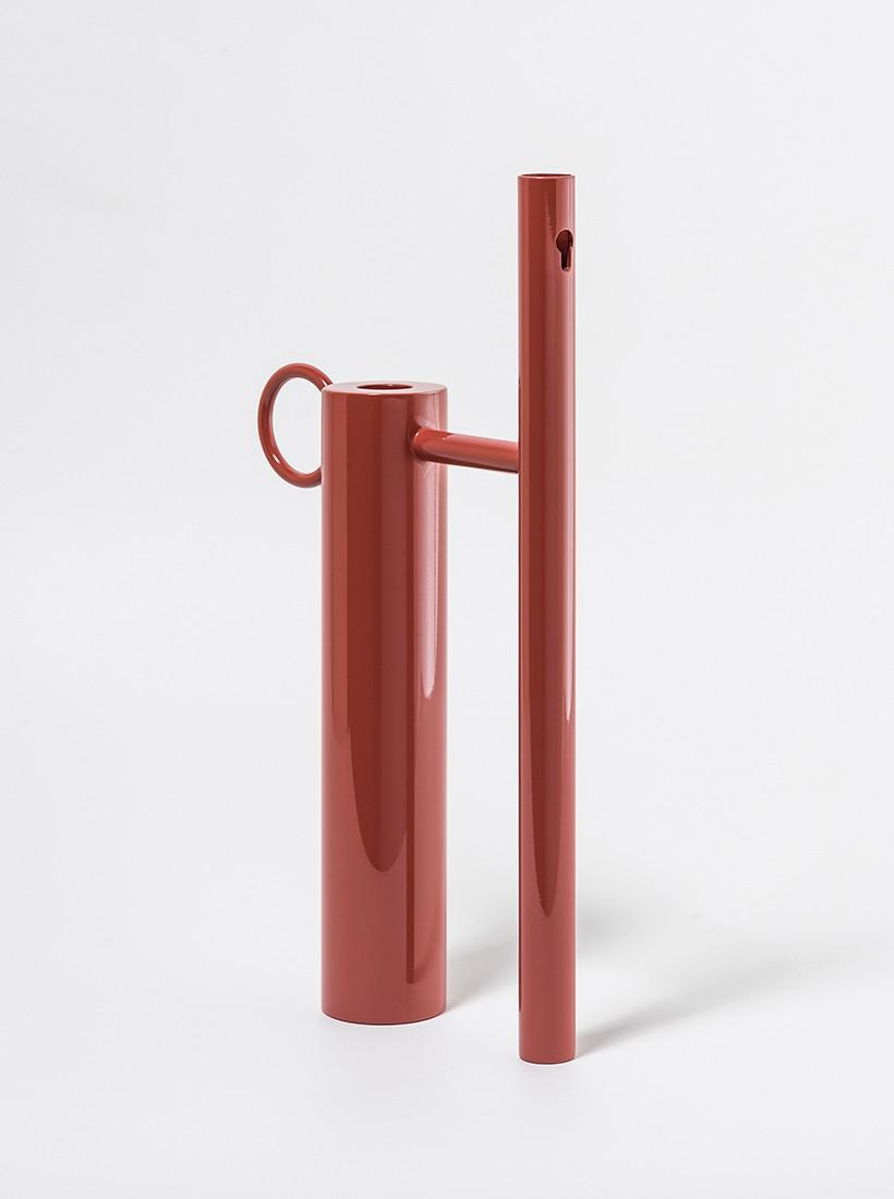 Castiçal-Vaso Oh, Gio | vermelho