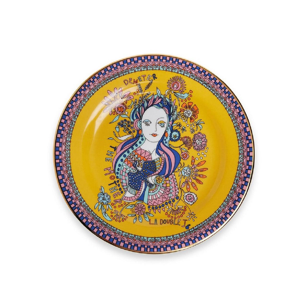 Conjunto de 6 Pratos Goddess