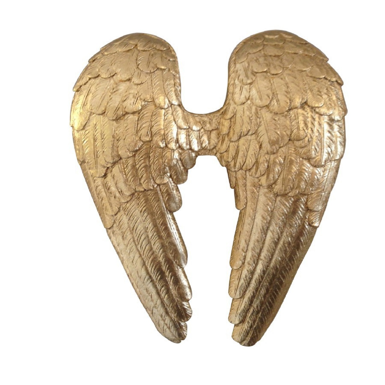 Escultura Asas | ouro