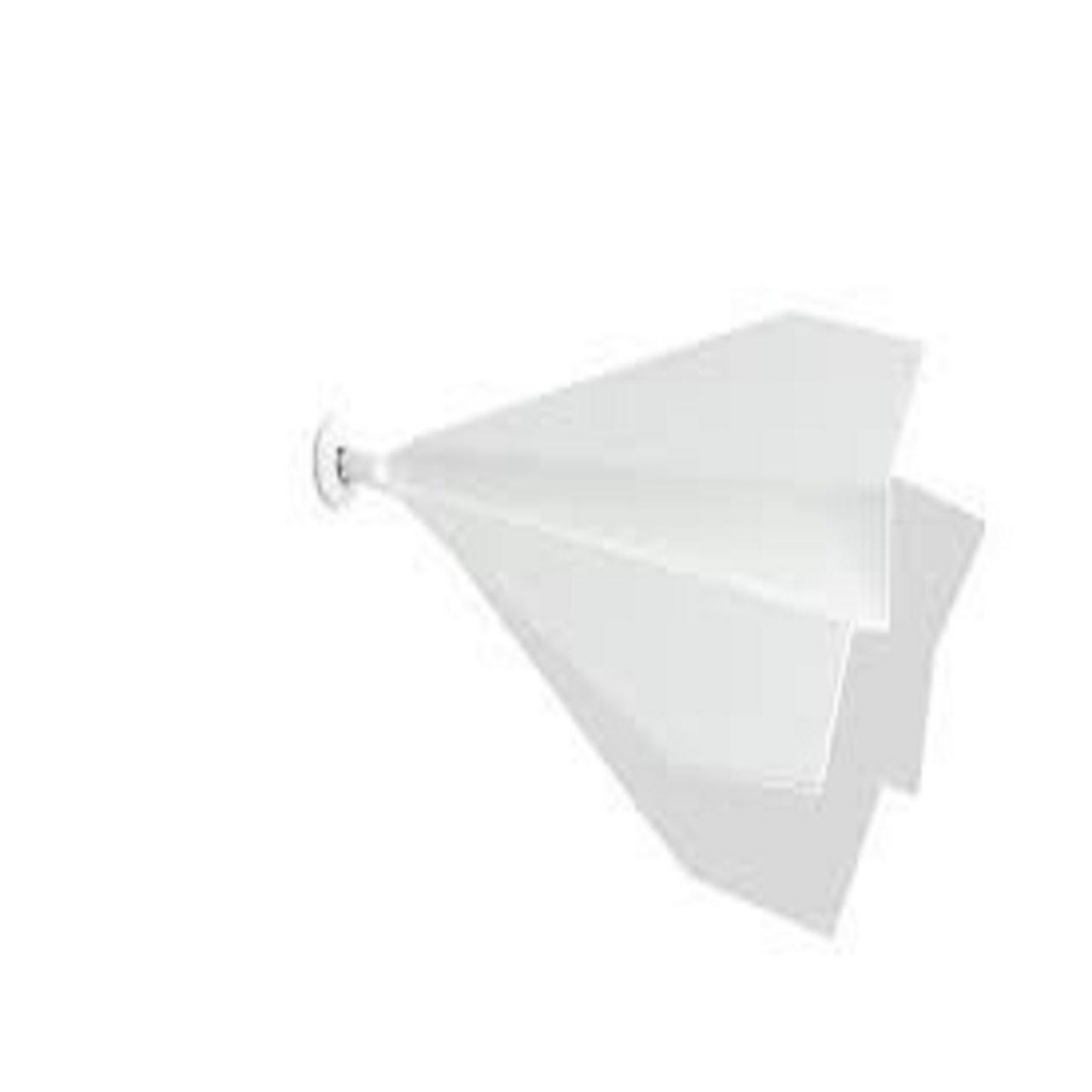 Escultura Aviãozinho de Parede P | branco