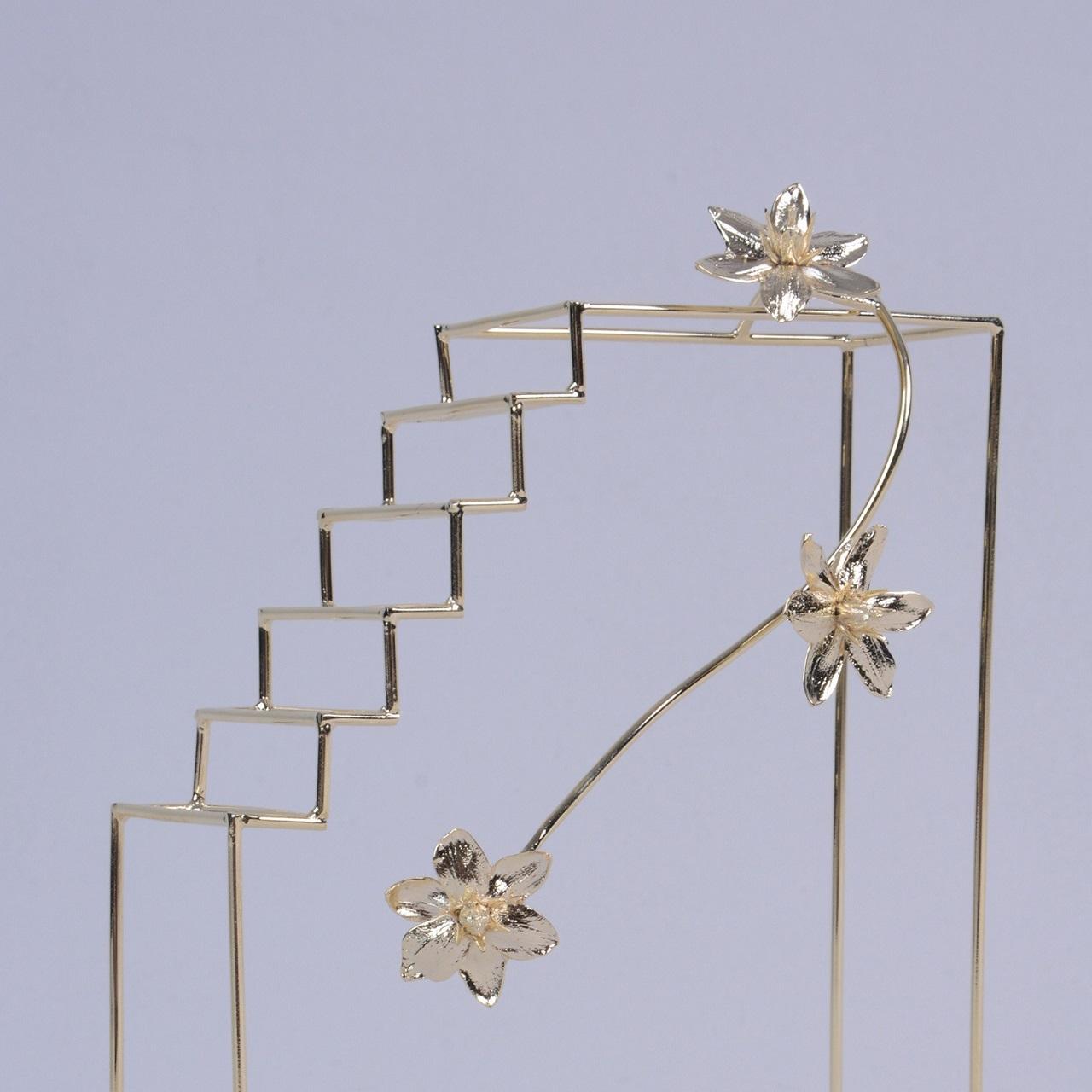 Escultura Bloco Flor
