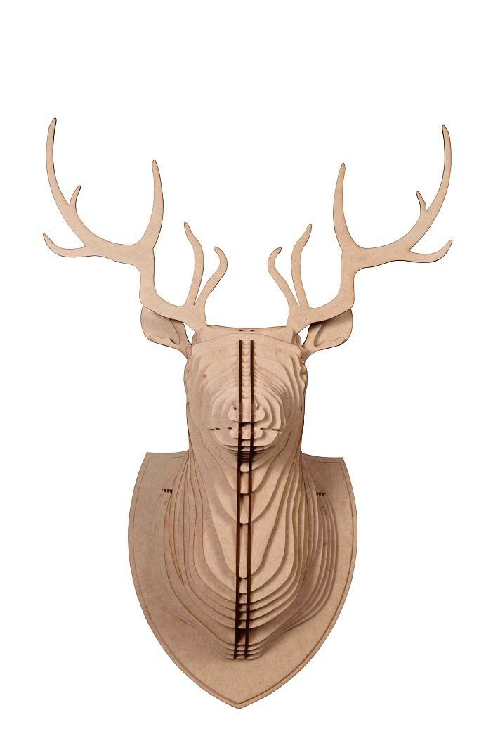 Escultura Cabeça de Veado
