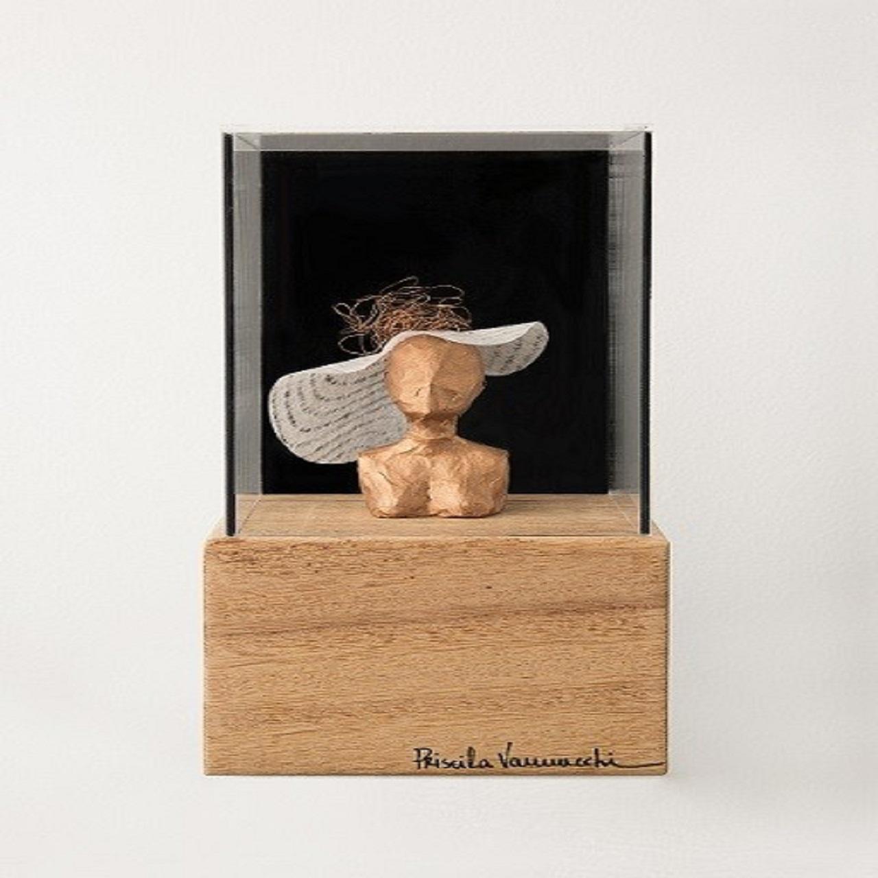 Escultura Chapéu | cobre
