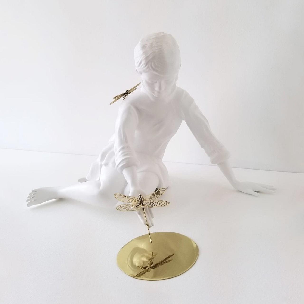 Escultura Consciência e Equilíbrio
