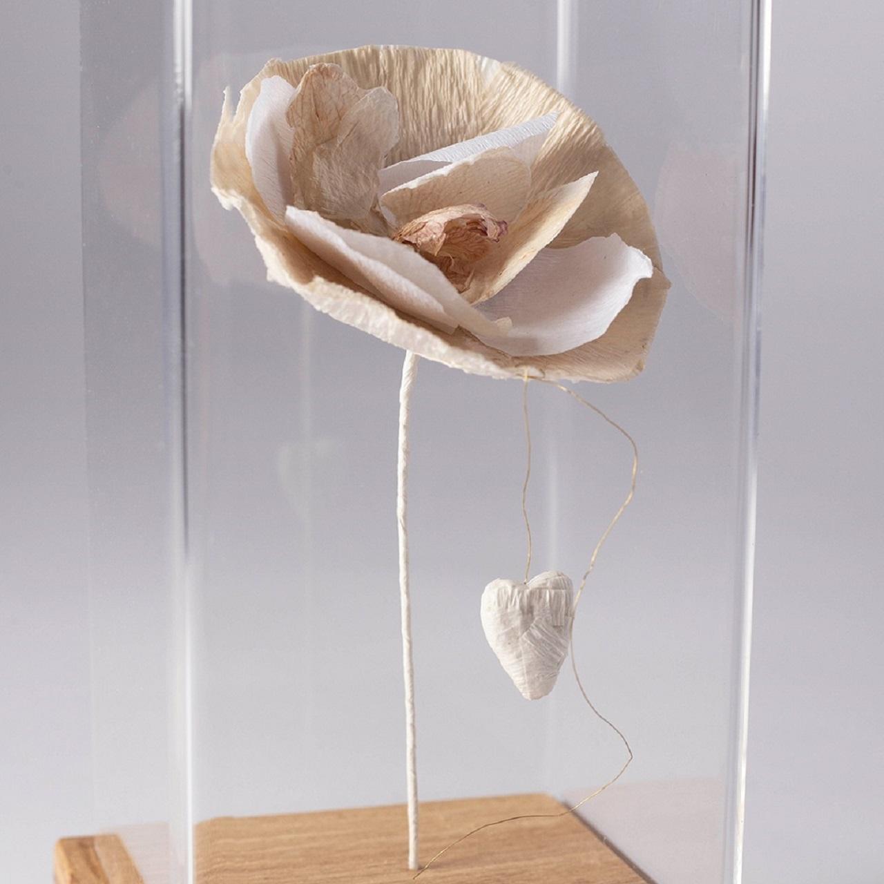 Escultura Flor Orquídea