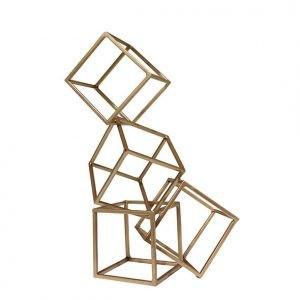 Escultura Geométrica   champagne