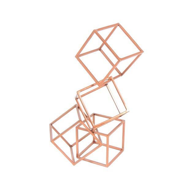 Escultura Geométrica | cobre