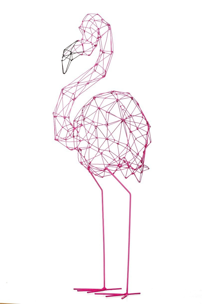 Flamingo Linha Origami |  goiaba