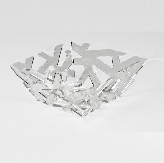 Fruteira Quadrada | cristal