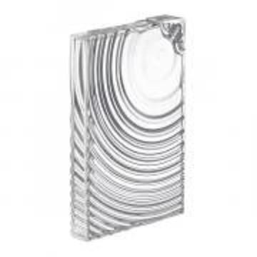 Garrafa Ripples | transparente