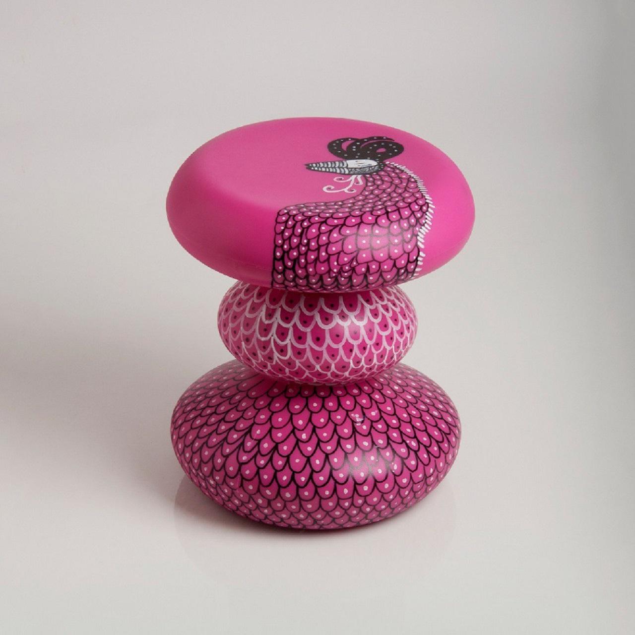 Goma por Fefê Talavera | rosa com luz