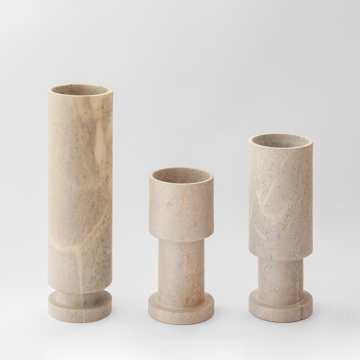 Jogo 3 Vasos Coleção Pistão