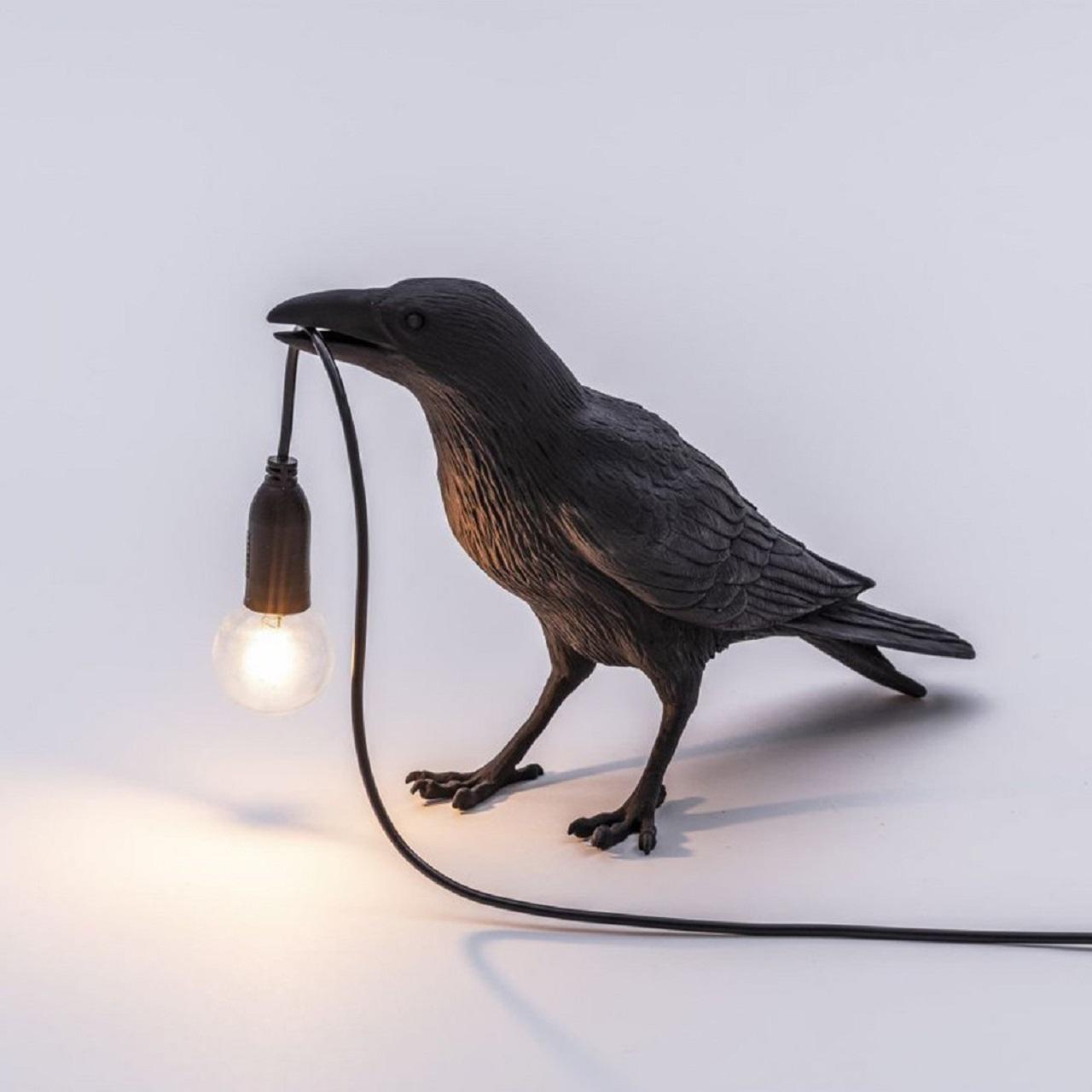 Luminária Bird Lamp | preta