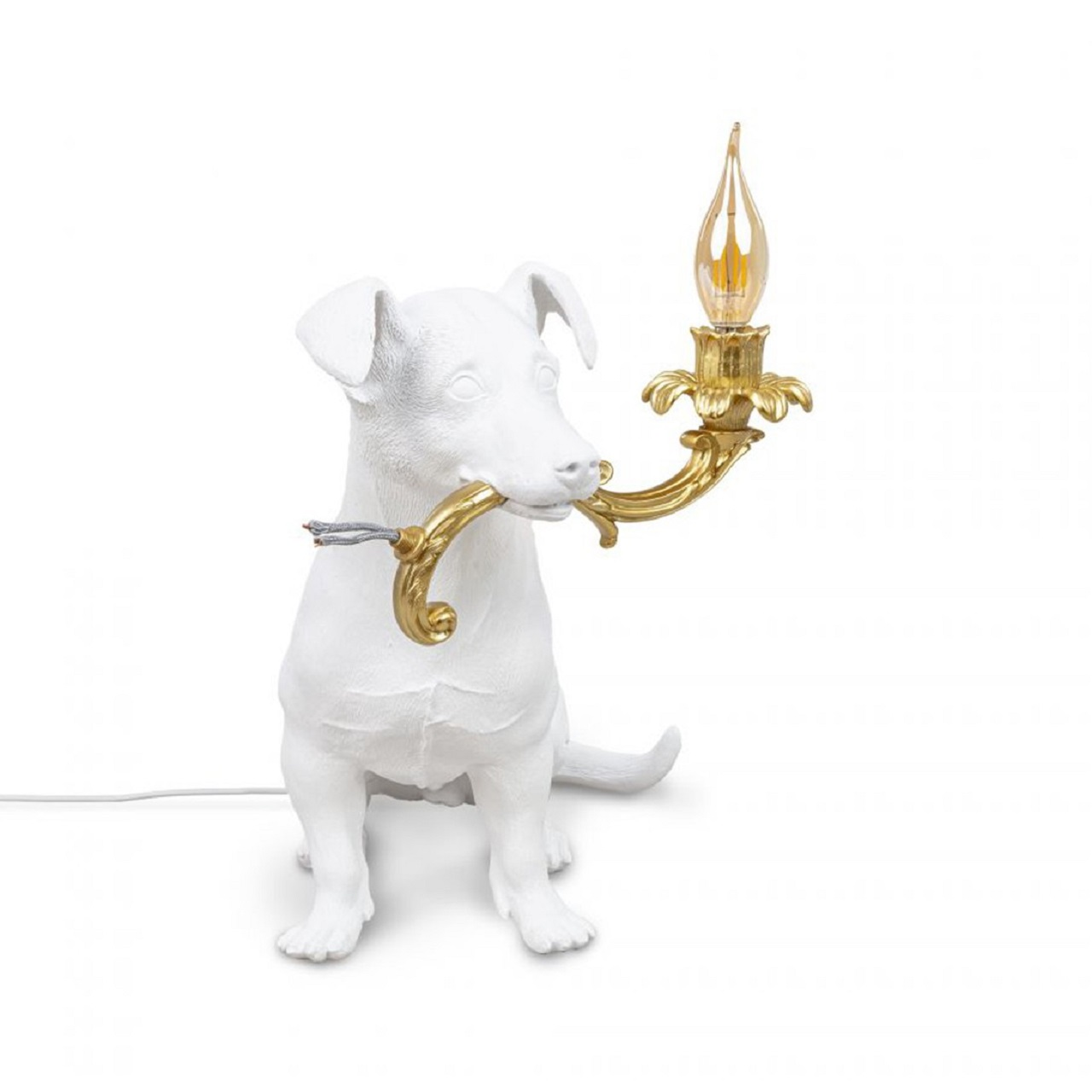 Luminária Rio Lamp   branca