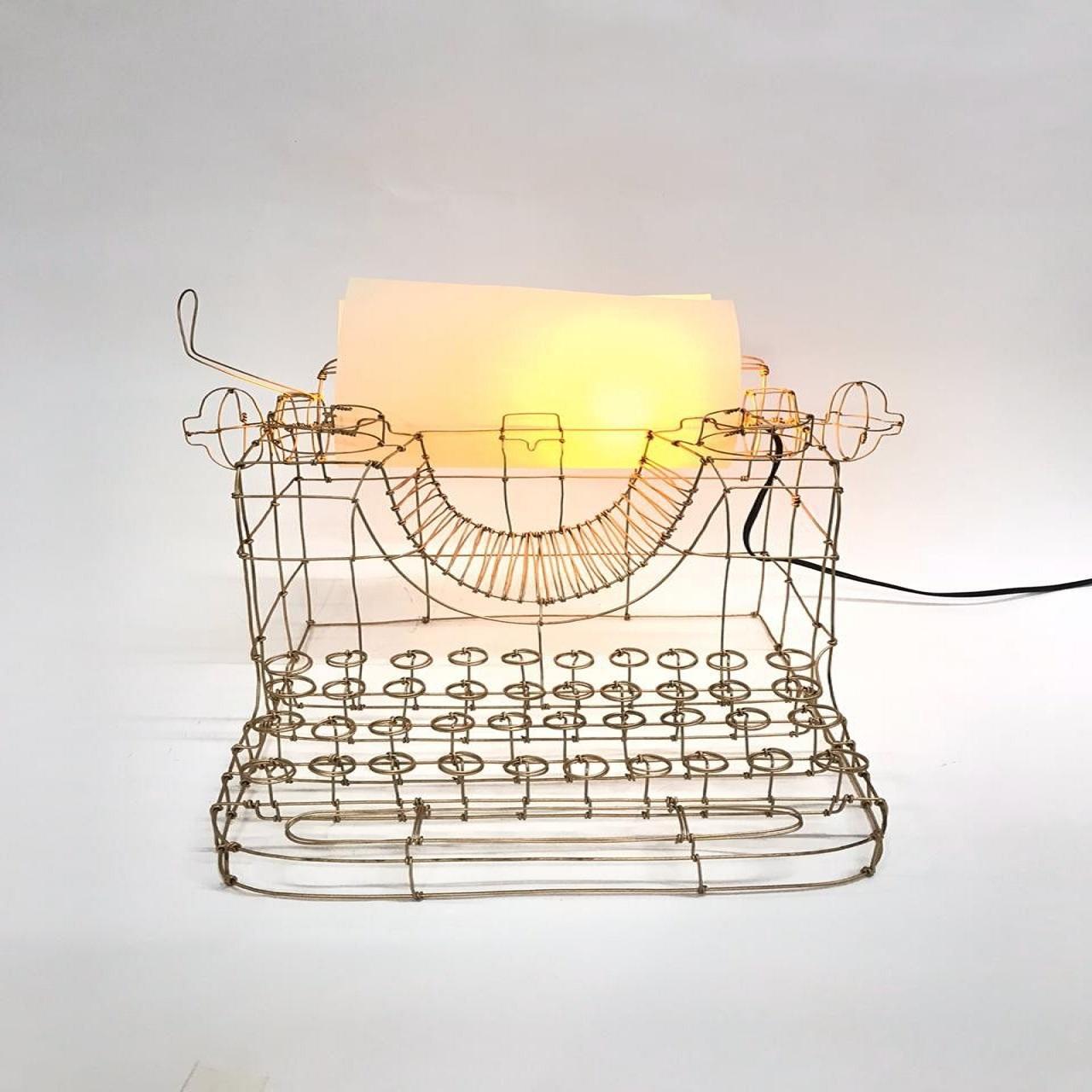 Máquina de Escrever | ouro