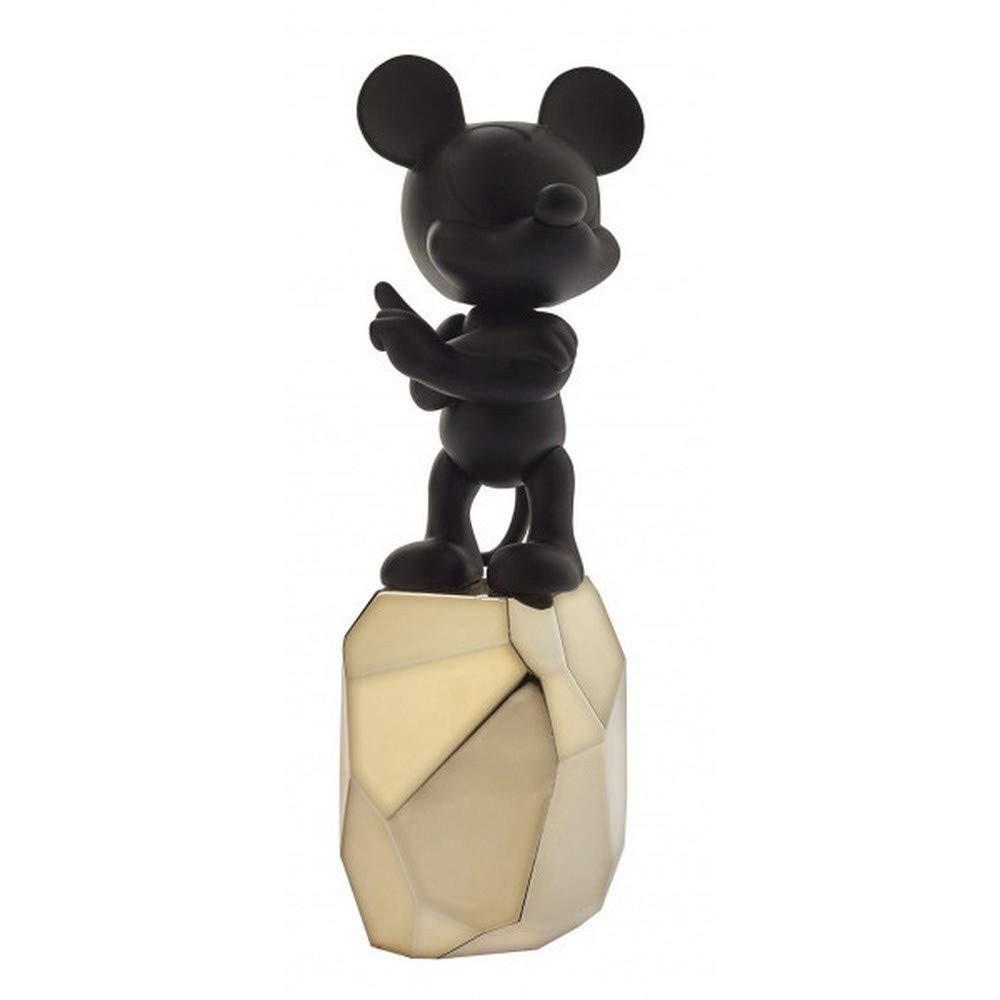 Mickey Rocha | preto e dourado